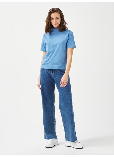 Xint Tişört Mavi
